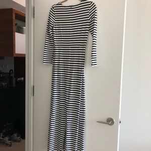 J.Crew Collection Striped Maxi Dress Size 2